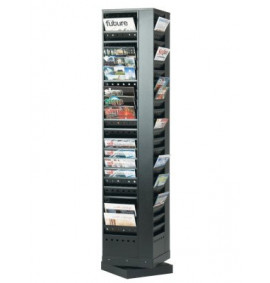 Steel Revolving Literature Dispensers