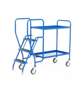 Step Tray Trolleys - 3 Step