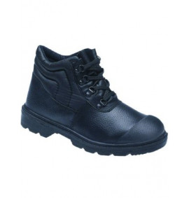 Toesavers Black Dual Density PU Safety Boot