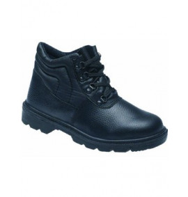 Toesavers Black Dual Density Safety Boot