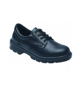Toesavers Black Dual Density Safety Shoe