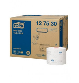 Tork Advance Compact Auto Shift Toilet Paper (100m)