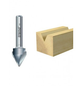 Trend V Groove Cutter 60° 10.3 x 12.7mm