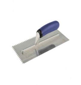 Vitrex Professional Notched Adhesive Trowel Square 4mm Stainless