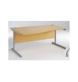 Wave Workstation Cantilever Leg