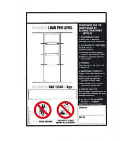 Weight Load Notices