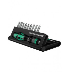 Wera Kompakt 10 Screwdriver Bit Set of 10