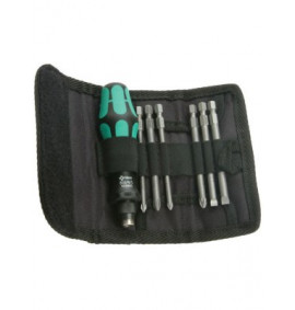 Wera Kompakt 40 Screwdriver Bit Holding Kit of 7 Pouch