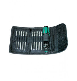 Wera Kompakt 41 Screwdriver Bit Holding Kit of 11 Pouch