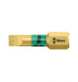 Wera Slotted Bits BDC BiTorsion Diamond Coated