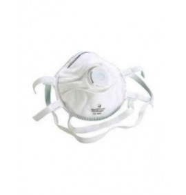 White P3V Valved Mask