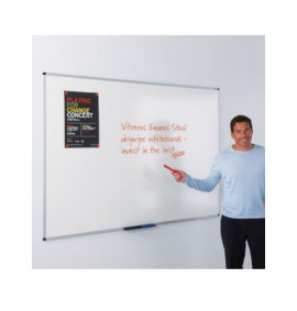 Write-on Vitreous Enamel Steel Whiteboards