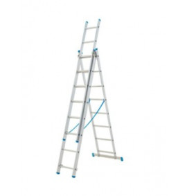 Zarges Combination Ladder 3-Part 3 x 7 Rungs