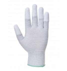 Portwest Antistatic PU Fingertip Glove (Grey)