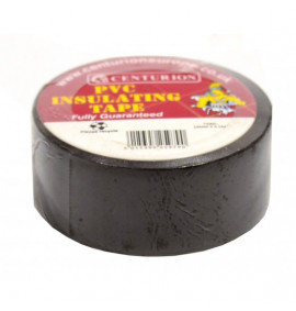 19mm x 4.5m Black PVC Tape