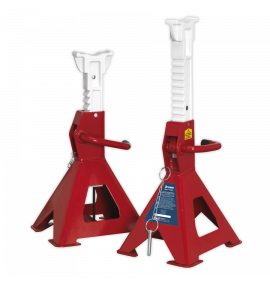 Axle Stands (Pair) 3tonne Capacity per Stand Auto Rise Ratchet
