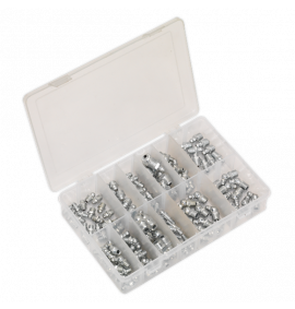 Grease Nipple Assortment 130pc - Metric, BSP & UNF