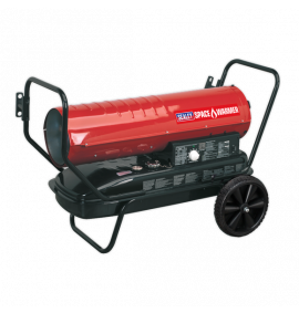 Space Warmer® Paraffin/Kerosene/Diesel Heater 100,000Btu/hr with Wheels