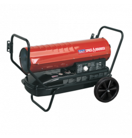 Space Warmer® Paraffin/Kerosene/Diesel Heater 125,000Btu/hr with Wheels
