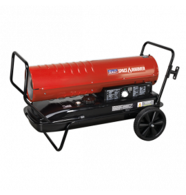 Space Warmer® Paraffin/Kerosene/Diesel Heater 215,000Btu/hr with Wheels
