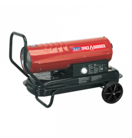 Space Warmer® Paraffin/Kerosene/Diesel Heater 70,000Btu/hr with Wheels