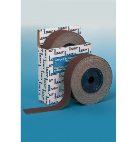 Sait Economical Abrasive Cloth Rolls - Length 25m