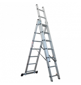 Aluminium Extension Combination Ladders EN 131