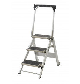 Easy Slope Aluminium Folding Leader Steps