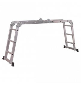 Aluminium Folding Platform Ladder 4-Way EN 131