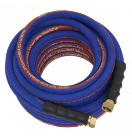 "Air Hose 15m x Ø13mm with 1/2""BSP Unions Extra Heavy-Duty"