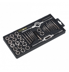 Tap & Die Set 40pc Split Dies Metric