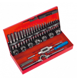Tap & Die Set 32pc Split Dies - Metric