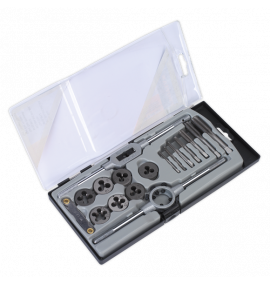 Tap & Die Set 17pc Metric