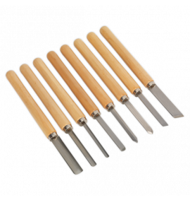 Wood Turning Chisel Set 8pc