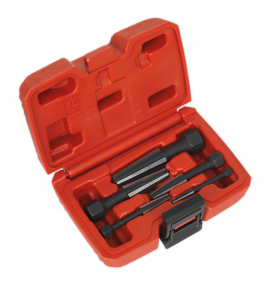 Screw Extractor Set 5pc Double Edge