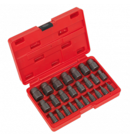 Multi-Spline Screw Extractor Set 25pc
