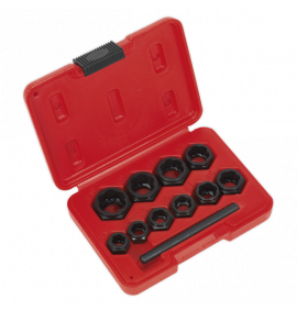 Bolt Extractor Set 11pc Spanner Type