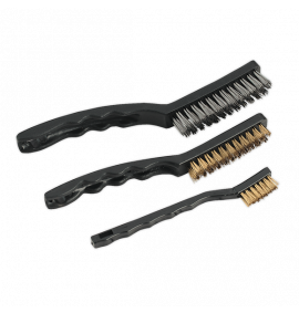 Wire Brush Set Auto Engineer's 3pc
