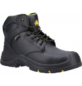 Amblers Black WP Metal Free Safety Boot