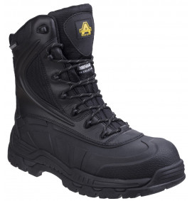 Amblers Black SKOMER HYBRID SAFETY BOOT