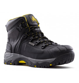 Amblers BLACK WIDE FIT SAFETY BOOT