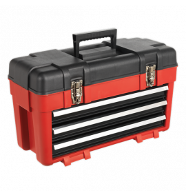 Toolbox 585mm 3 Drawer Portable