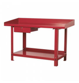 Workbench Steel 1.5mtr with 1 Drawer