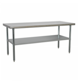 Stainless Steel Workbench 1.8mtr