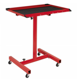 Mobile Work Station - Adjustable Height