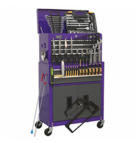 Topchest & Rollcab Combination 6 Drawer with Ball Bearing Slides