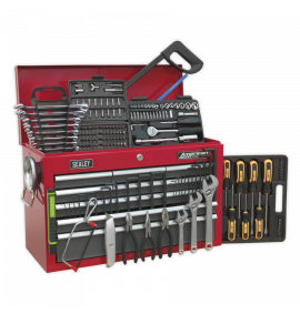 Topchest 9 Drawer with Ball Bearing Slides & 205pc Tool Kit