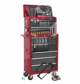 Topchest & Rollcab Combination 14 Drawer with Ball Bearing Slides