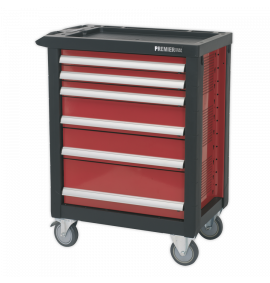 Rollcab 6 Drawer with Ball Bearing Slides