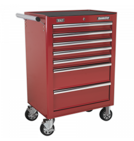 Rollcab 7 Drawer with Ball Bearing Slides